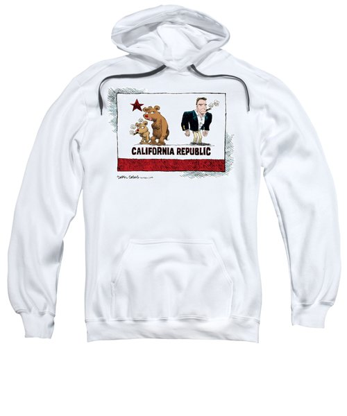 Schwarzenegger Love Child Flag Sweatshirt