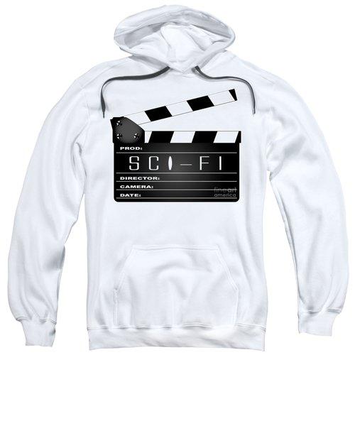 Science Fiction Clapperboard Sweatshirt