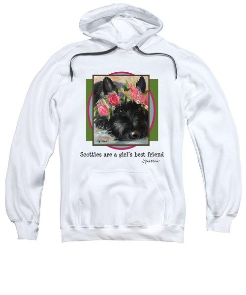 Scotties Are A Girl's Best Friend Sweatshirt