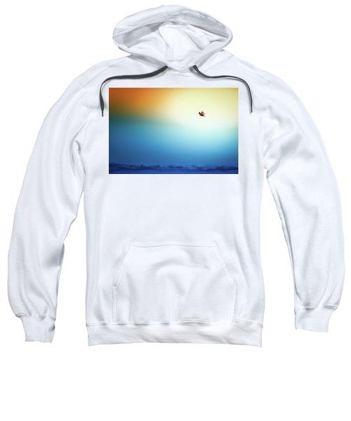 Sea Eagle On High Sweatshirt