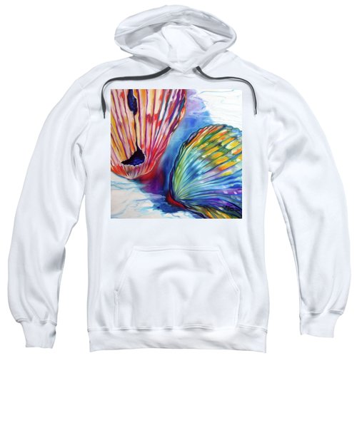 Sea Shell Abstract II Sweatshirt