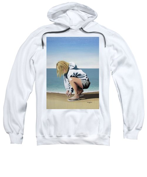 Sea Shells On The Beach Sweatshirt