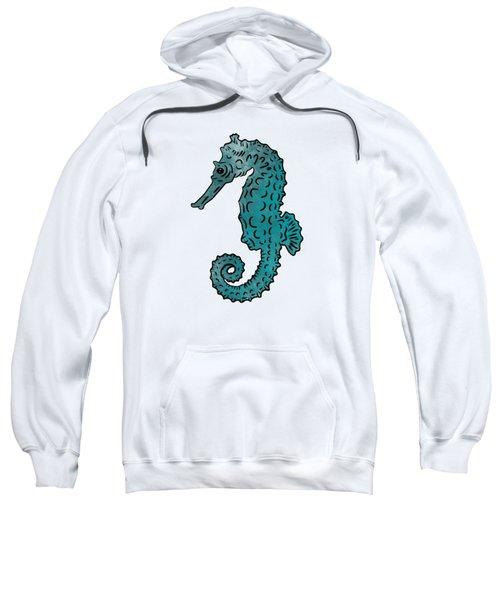 Seahorse Sketch Compilation Sweatshirt