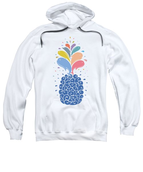 Seapple Sweatshirt by Mustafa Akgul