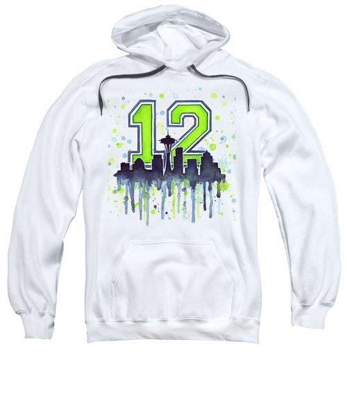 Seattle Seahawks 12th Man Art Sweatshirt