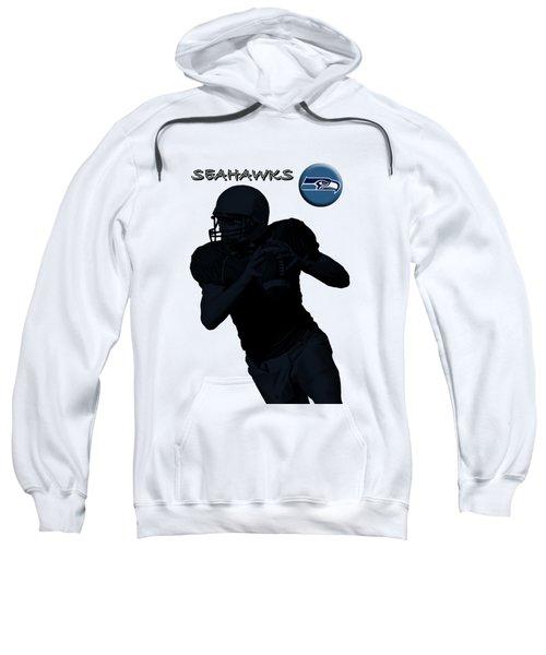 Seattle Seahawks Football Sweatshirt by David Dehner