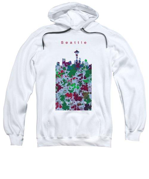 Seattle Skyline .3 Sweatshirt