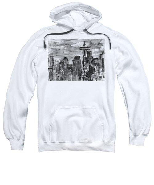 Seattle Skyline Space Needle Sweatshirt