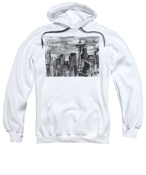 Seattle Skyline Space Needle Sweatshirt