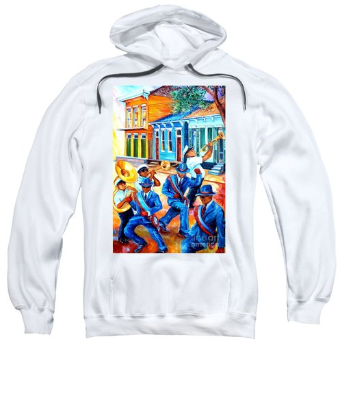 Second Line In Treme Sweatshirt