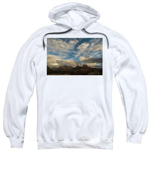 Sedona Arizona Redrock Country Landscape Fx1 Sweatshirt by David Haskett