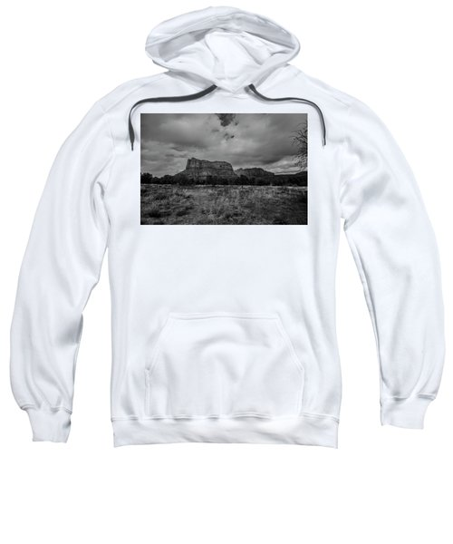 Sedona Red Rock Country Arizona Bnw 0177 Sweatshirt by David Haskett