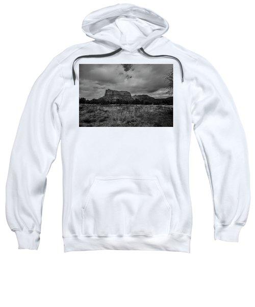 Sedona Red Rock Country Arizona Bnw 0177 Sweatshirt by David Haskett