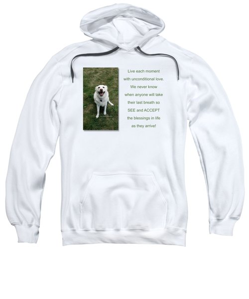 See And Accept Blessings Sweatshirt