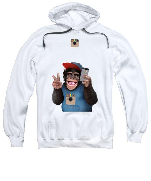 Selfi Chimpanzee Sweatshirt