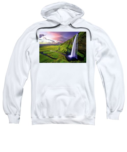 Seljalandsfoss Waterfall Sweatshirt