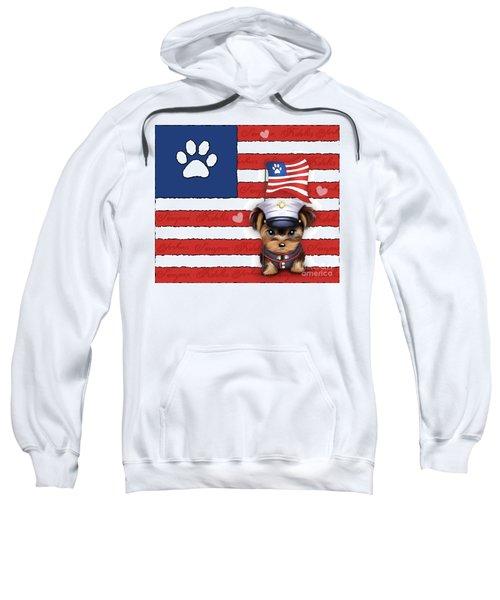 Semper Fidelis Yorkie Marine Sweatshirt