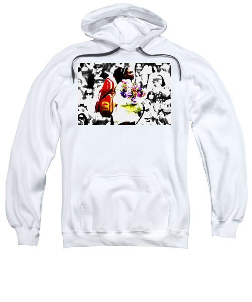 Serena Williams 2f Sweatshirt by Brian Reaves