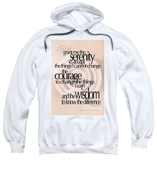 Serenity Prayer 06 Sweatshirt