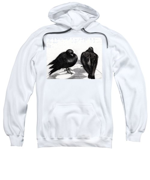 Serious Pigeon Situation Sweatshirt