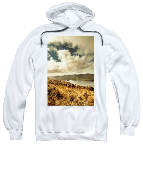 Serpentine Dam Tasmania Sweatshirt