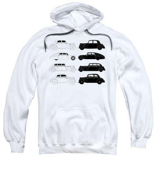 Set Of Vintage Cars Sweatshirt