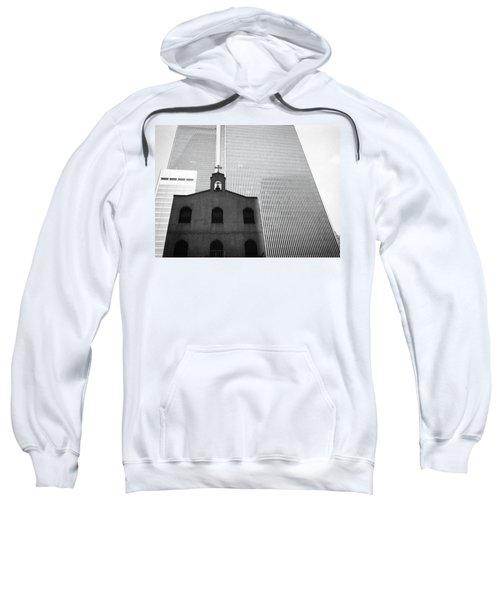 Shadow Of World Trade Center Sweatshirt