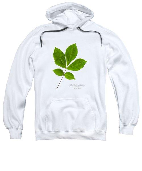 Sweatshirt featuring the photograph Shagbark Hickory by Christina Rollo
