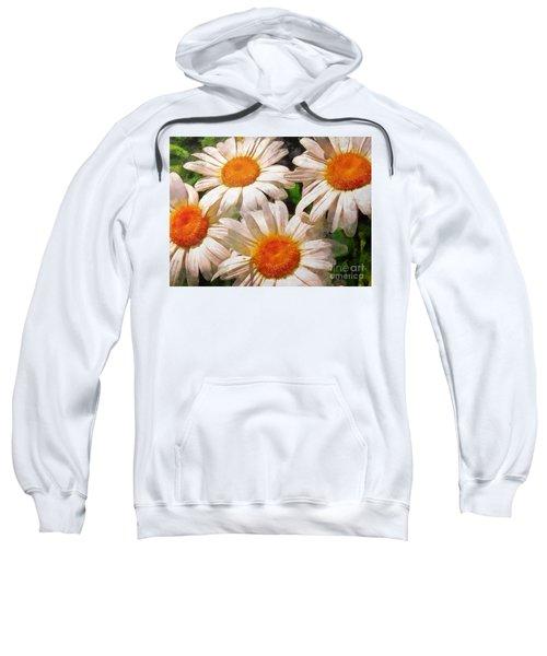 Shasta Daisies 2015 Sweatshirt