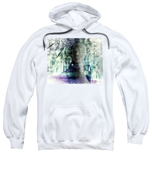 She Thought She's Never Be Alone Again Sweatshirt