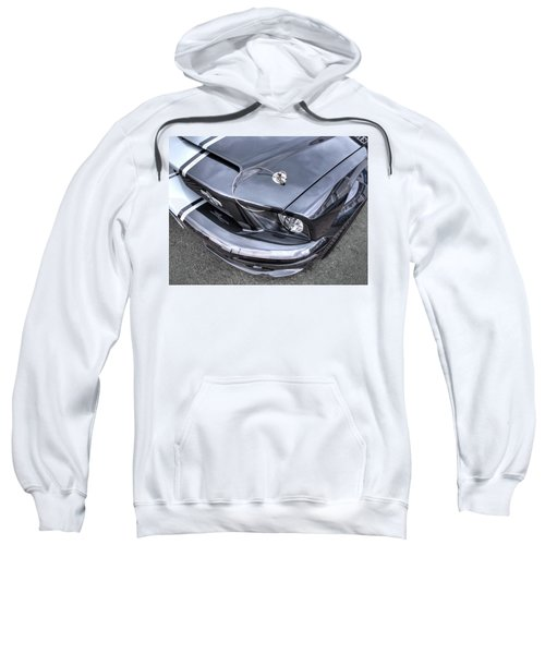 Shelby Super Snake At The Ace Cafe London Sweatshirt by Gill Billington
