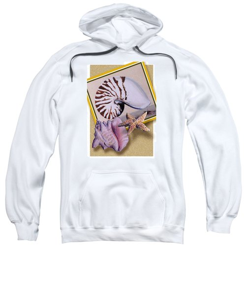 Shell Collage Sweatshirt