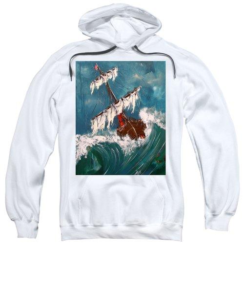 Ship In A Storm Sweatshirt