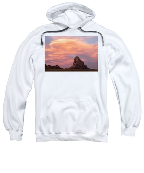 Shiprock At Sunset Sweatshirt