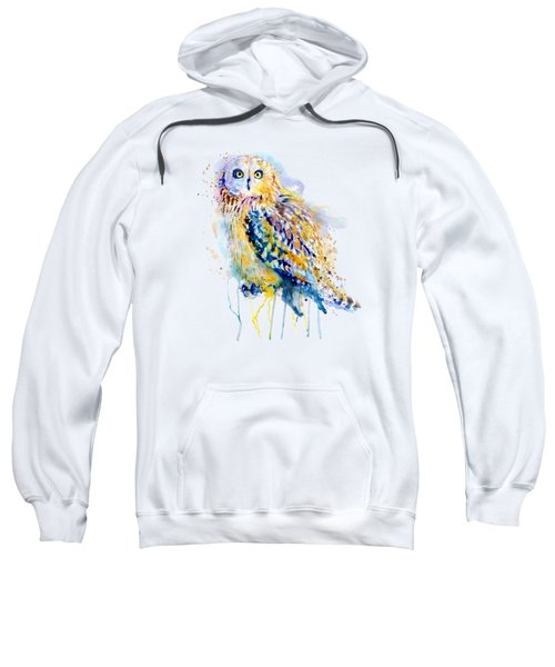 Short Eared Owl  Sweatshirt