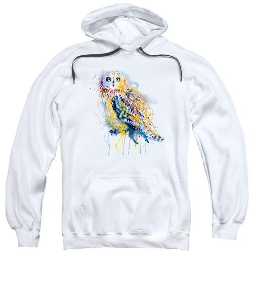 Short Eared Owl  Sweatshirt