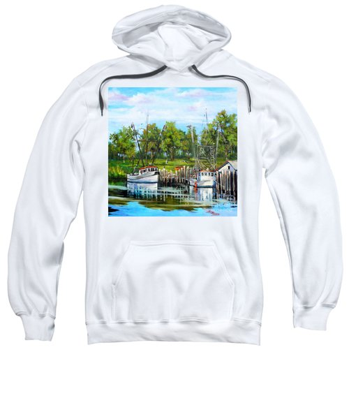 Shrimping Boats Sweatshirt
