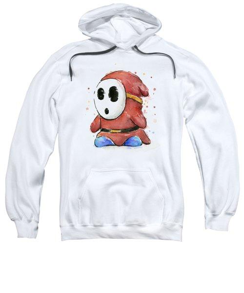 Shy Guy Watercolor Sweatshirt