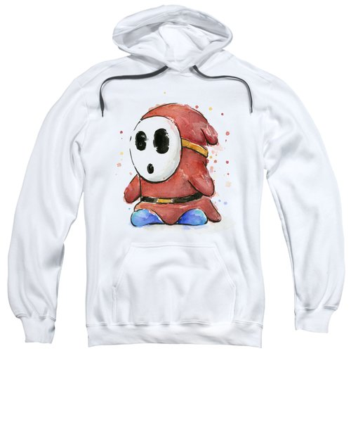 Shy Guy Watercolor Sweatshirt