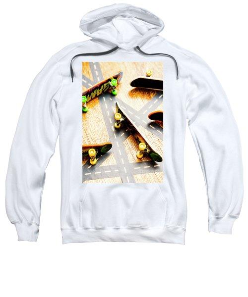 Side Streets Of Skate Sweatshirt
