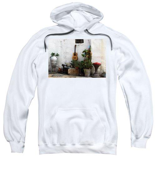 Sidewalk Collage #2 Sweatshirt