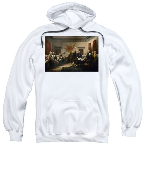 Signing The Declaration Of Independence Sweatshirt