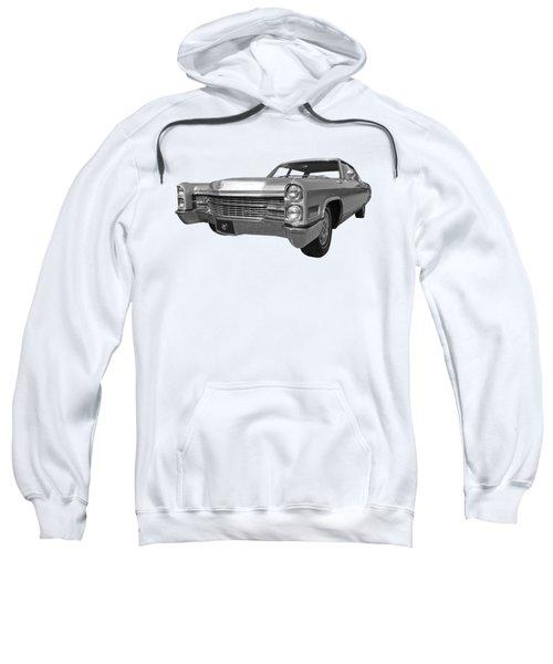 Silver Cadillac 1966 Sweatshirt