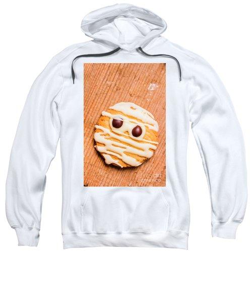 Single Homemade Mummy Cookie For Halloween Sweatshirt