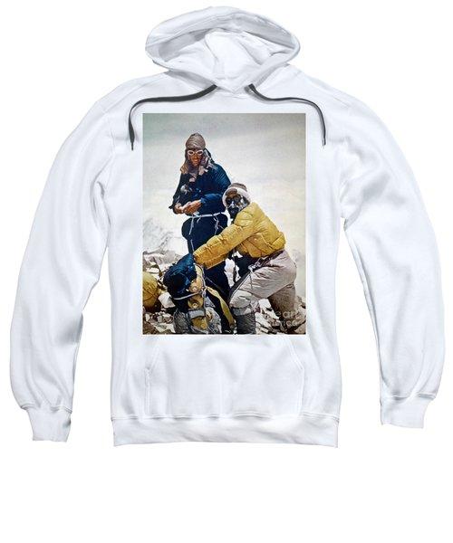 Sir Edmund Hillary Sweatshirt