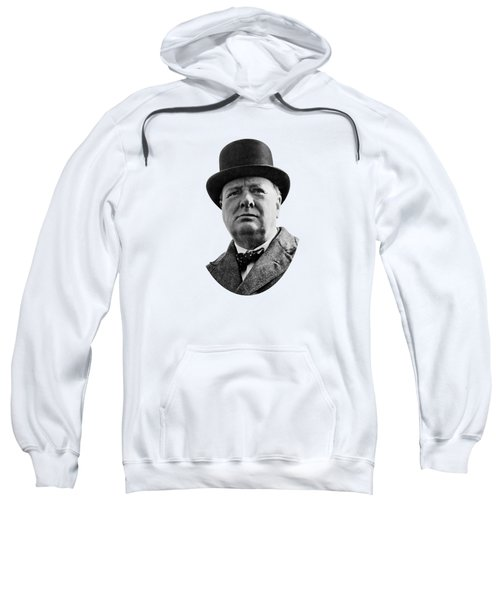 Sir Winston Churchill Sweatshirt by War Is Hell Store
