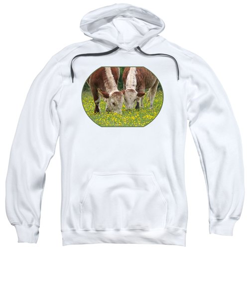 Sisters - Brown Cows Sweatshirt