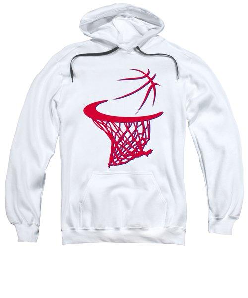 Sixers Basketball Hoop Sweatshirt
