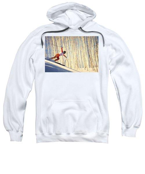 Skiing In Aspen, Colorado Sweatshirt