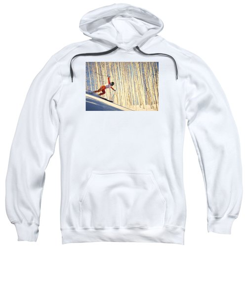Skiing In Aspen, Colorado Sweatshirt